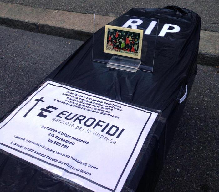 Eurofidi, una bara per morte consorzio