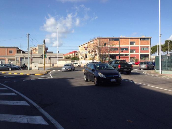 Cagliari,via a rivoluzione viale Marconi