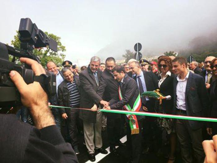 Lauria-Fondovalle, aperto il primo lotto