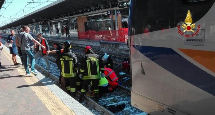 Donna investita treno a Mestre, è grave