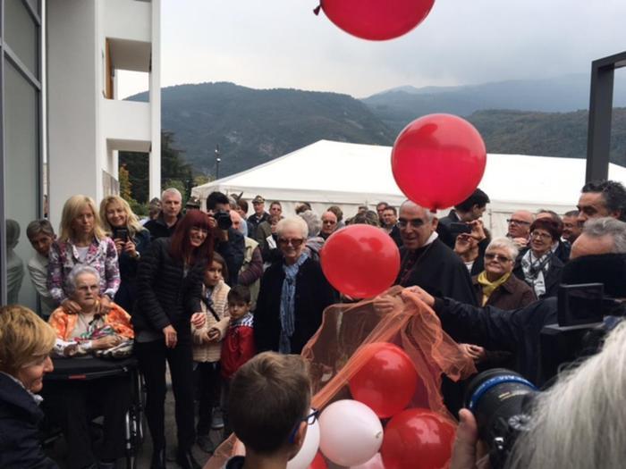 Anziani: inaugurata Rsa 'Casa Famiglia' di Cadine