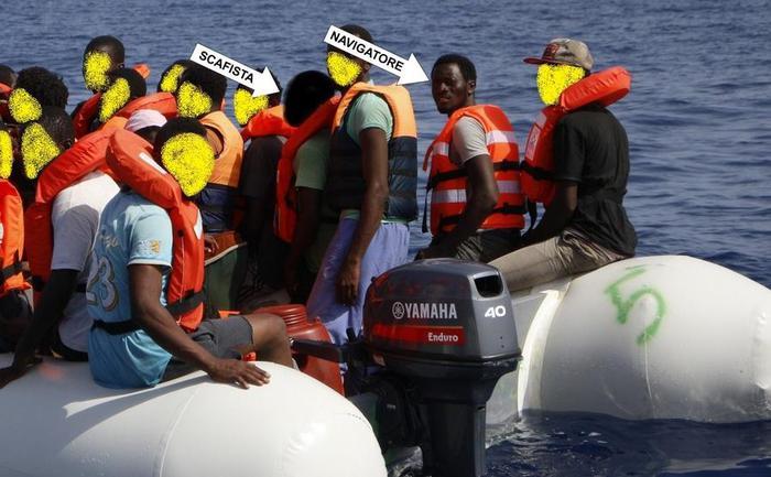 Migranti: individuati 3 scafisti