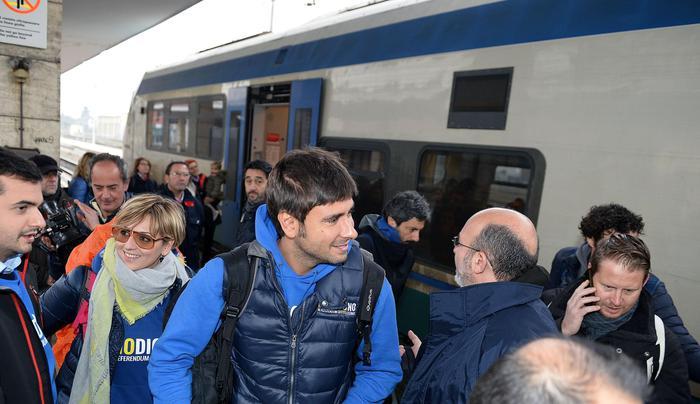 Treno M5s #iodicono domani nelle Marche