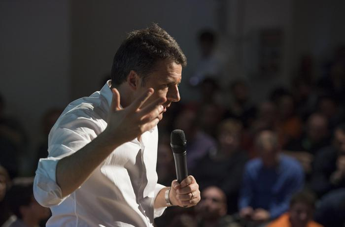 Lezione di Renzi su riforme in Cattolica
