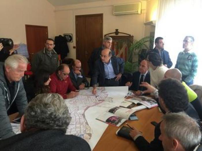 Giro: grandi manovre per via ad Alghero