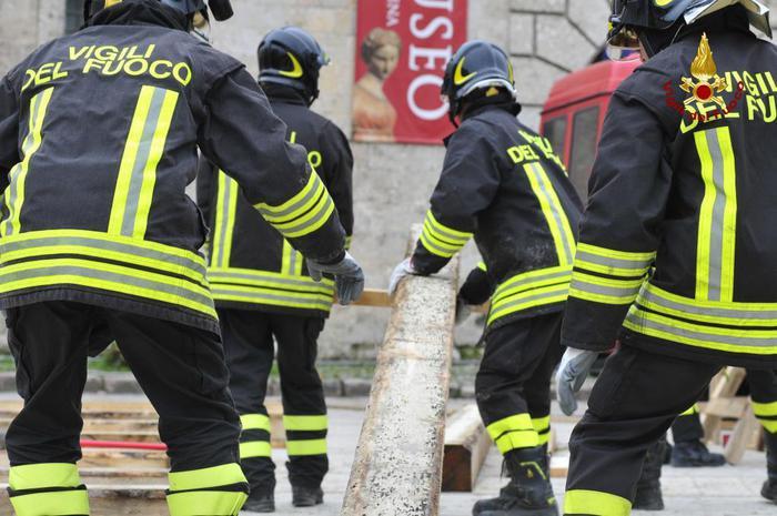 Paparelli, grazie ai vigili del fuoco