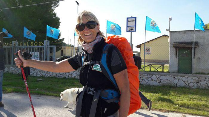 Paestum-Puglia a piedi, percorsi 230 km