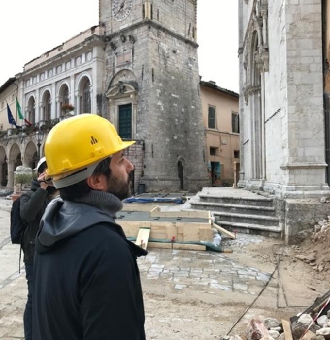 Fico, basilica Norcia è ferita a Italia