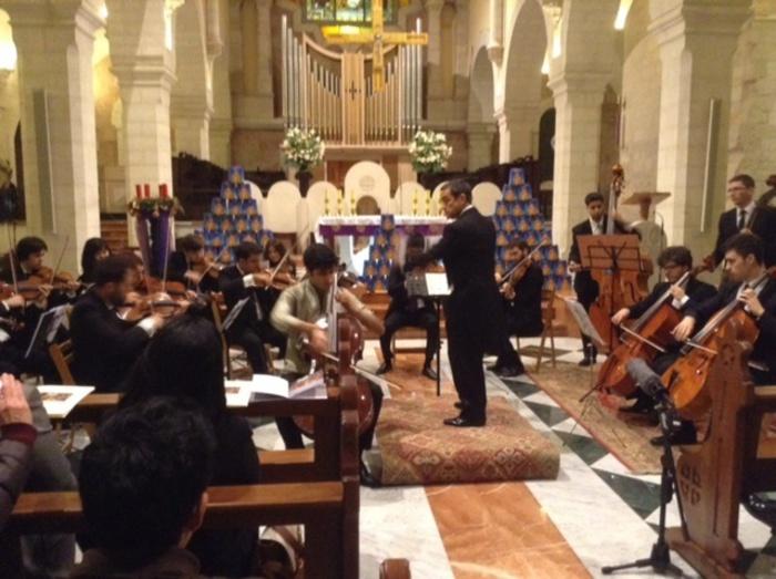 Musica di pace da Ravenna a Betlemme