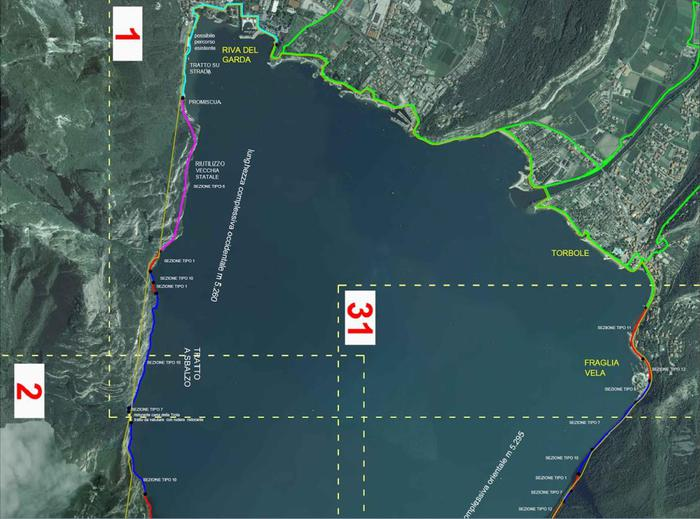 Turismo: Trentino approva protocollo per progetto Garda Bike