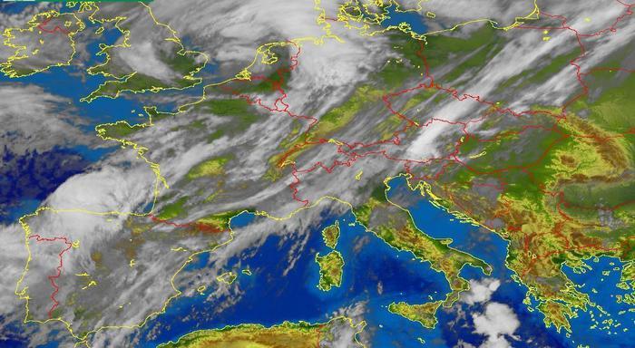 Allerta giallo Ponente e Centro Liguria