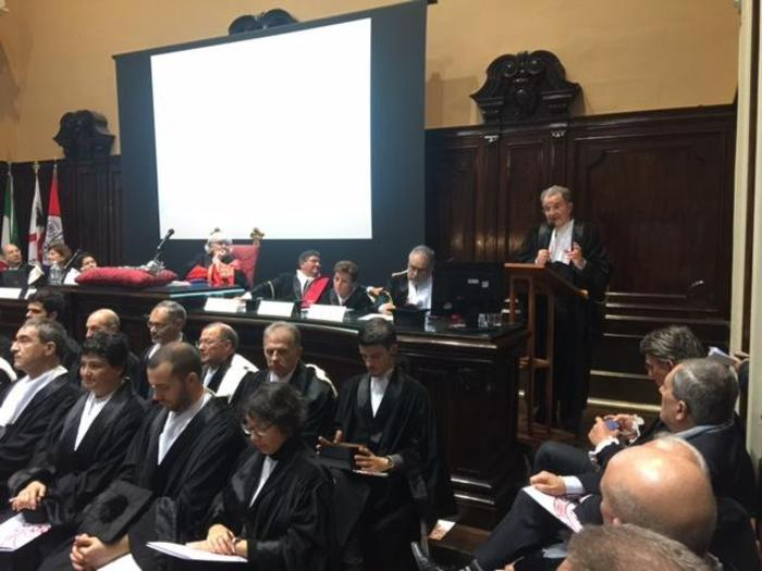 Prodi inaugura anno Accademico Cagliari
