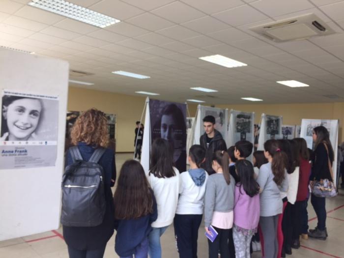 Mostra su Anna Frank,studenti in visita