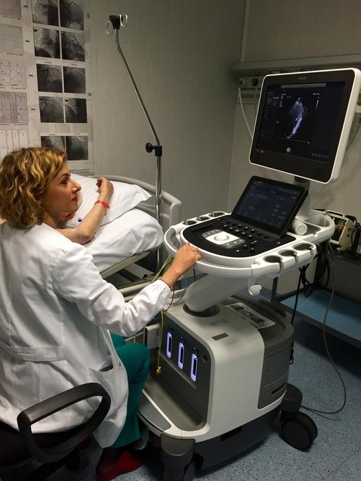 Ecografo 3D per cardiopatie valvolari