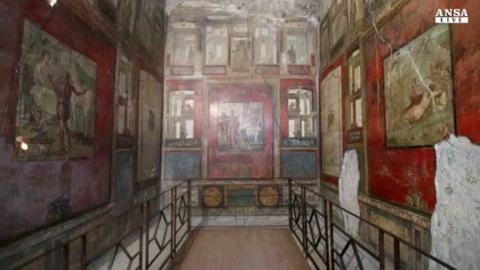 A pompei riapre dopo 12 anni la casa dei vettii italia for Sito web casa dei sogni