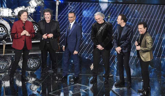 Sanremo al giro di boa tra la reunion dei Pooh e polemiche sul voto$