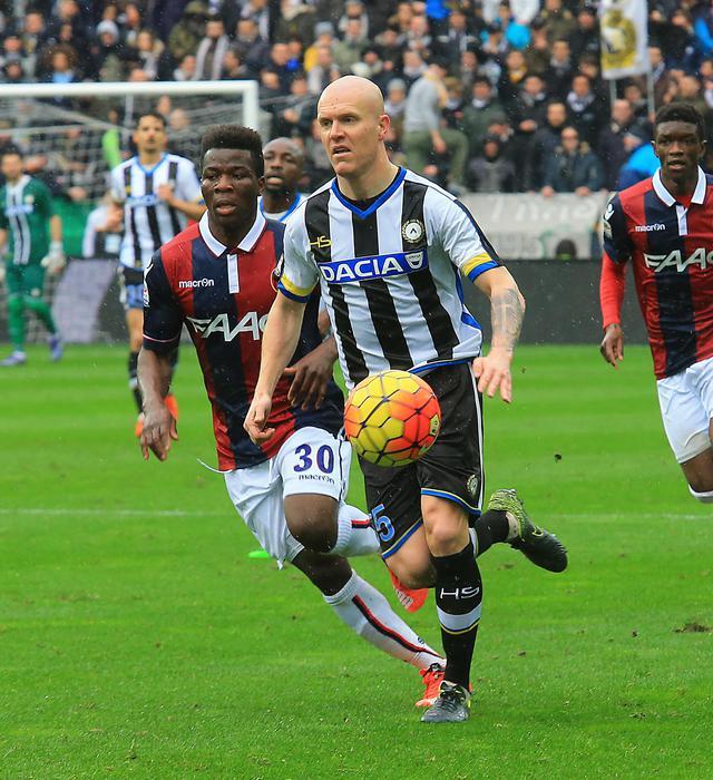 Calcio: Udinese, Hallfredsson verso forfait con Fiorentina