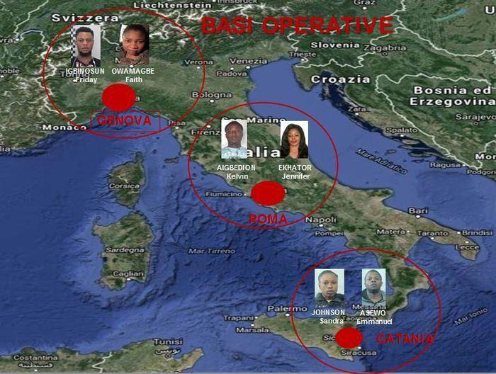 Catania, sgominata tratta di nigeriane $