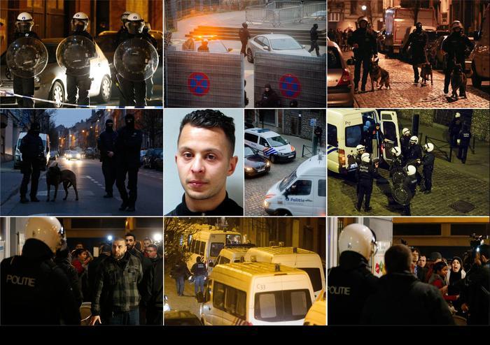 La polizia belga :