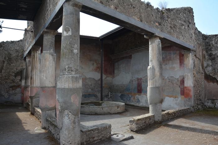 Pompei si restaura domus caccia antica arte for Planimetrie della casa antica
