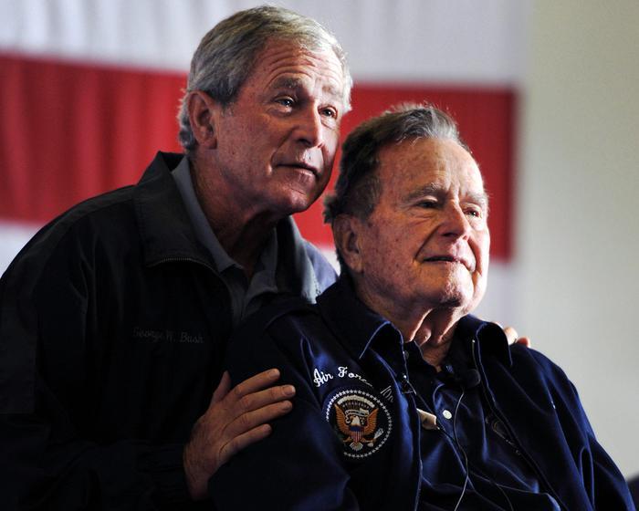 I Bush hanno annunciato che non faranno campagna elettorale.