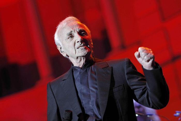 Aznavour in Arena, 'sono un artigiano'