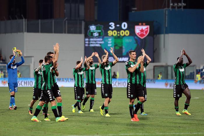Calcio: maxischermo a Sassuolo per Genk