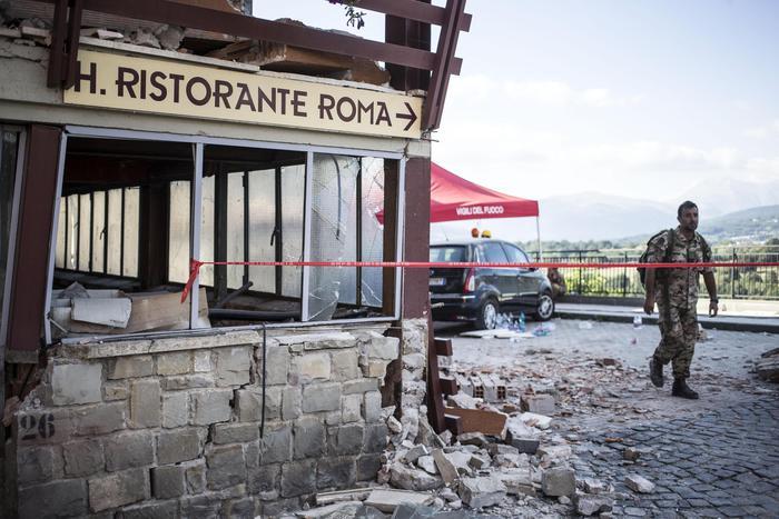 Terremoto: 22.400 persone assistite