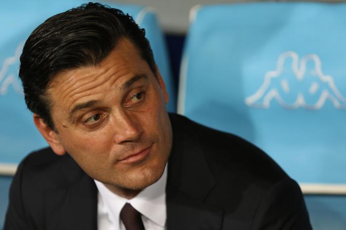 Montella, voglio arrivare davanti Inter