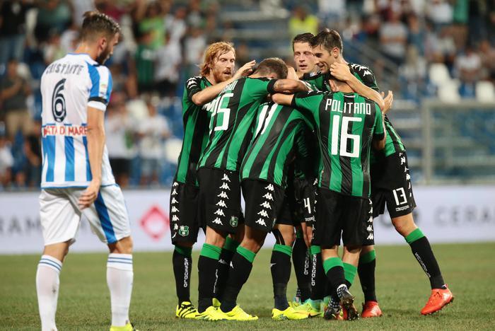 Sassuolo-Pescara, confermato lo 0-3