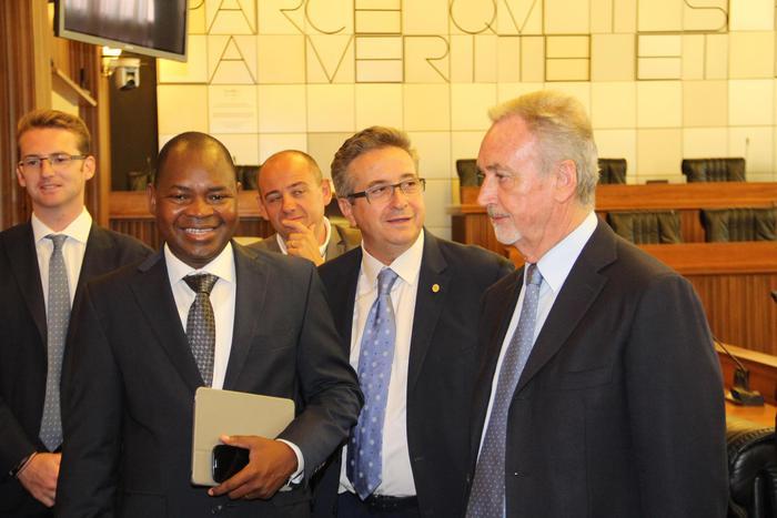 Vice presidente parlamento Togo ad Aosta