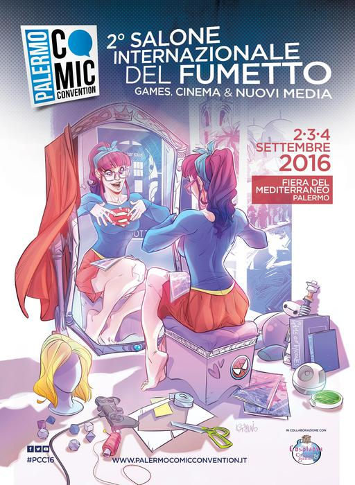 Festival fumetto a Palermo nel week end