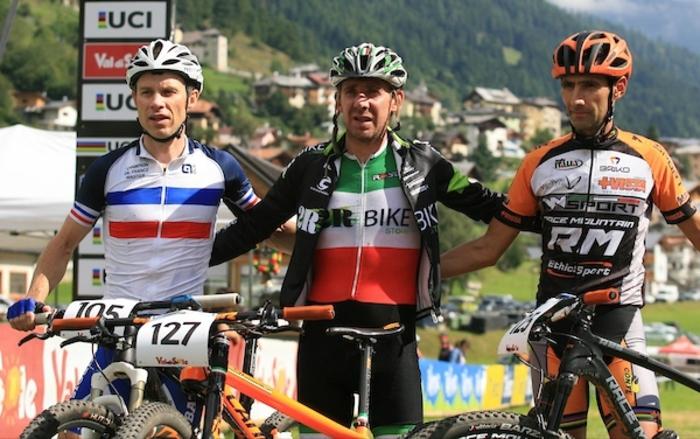 Ciclismo:mondiali mtb,Oscar Lazzaroni oro nella categoria M3
