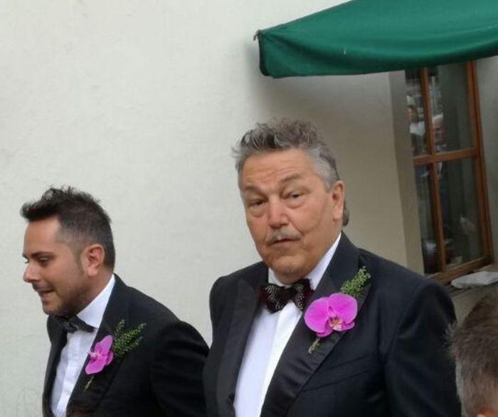 Roland e Fabio, sposi in Val Sarentino