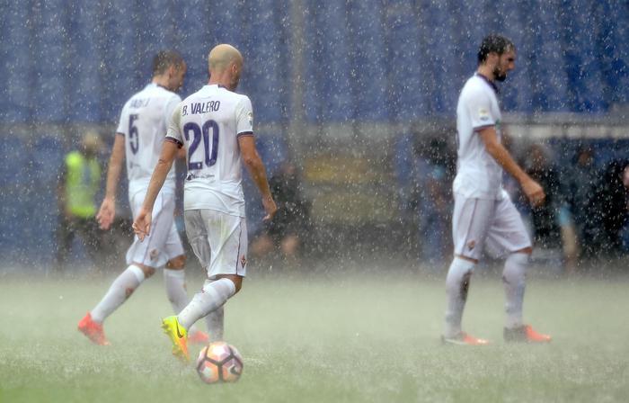 Campo ko, rinviata Genoa-Fiorentina