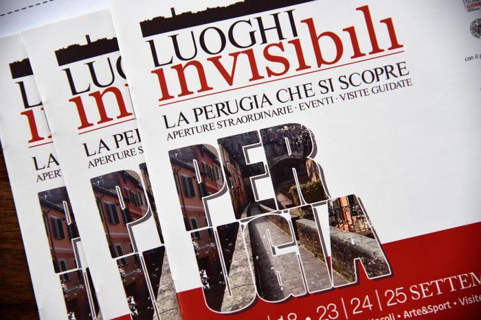 'Luoghi invisibili' in Perugia nascosta