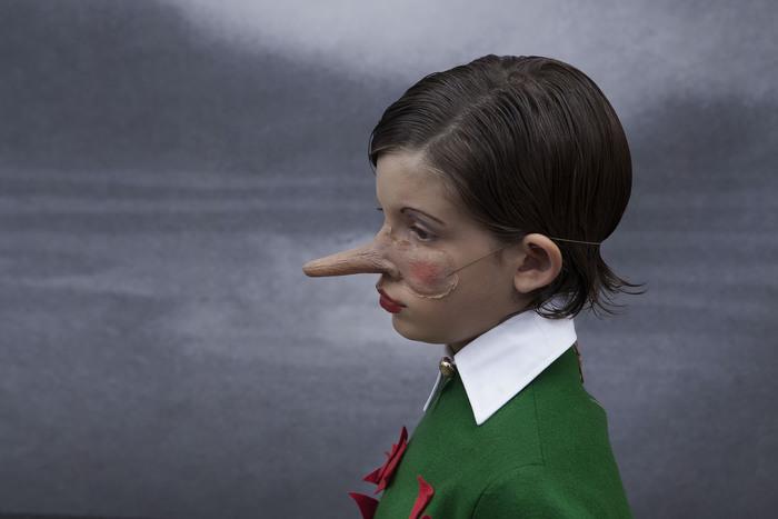 'Pinocchio esce fiaba' con scatti Fallai