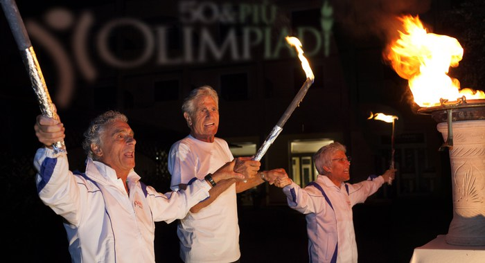 Cominciate le Olimpiadi per gli over 50