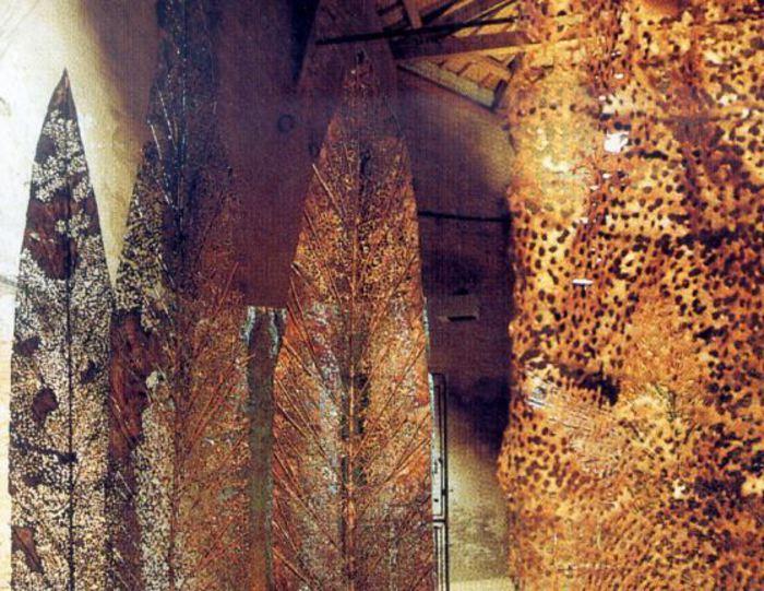 Mostre: scultore Zamboni al teatro Duse