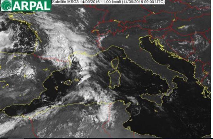 Allerta meteo Arancione per la Liguria