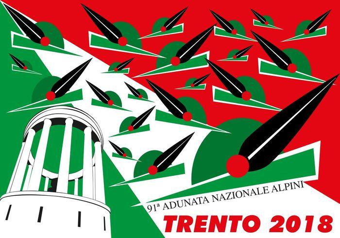 Alpini: l'adunata nazionale 2018 sarà a Trento