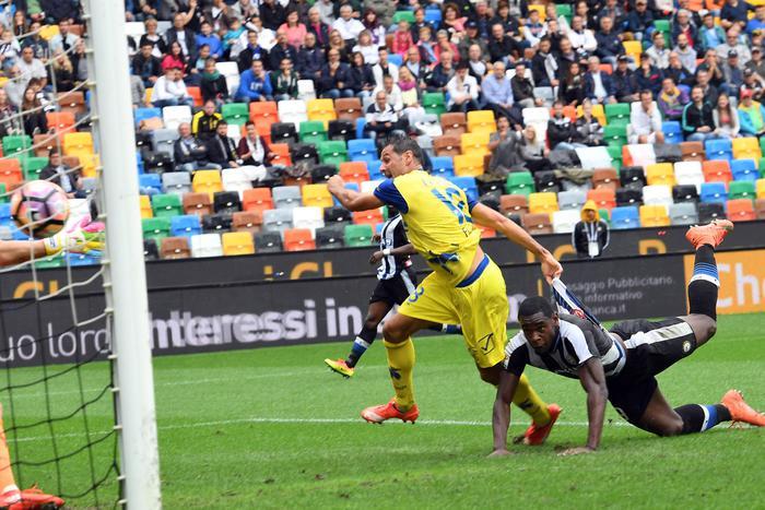 Calcio: Udinese-Chievo 1-2