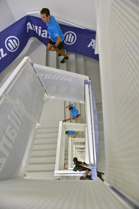 Salomon Running Milano su Torre Allianz