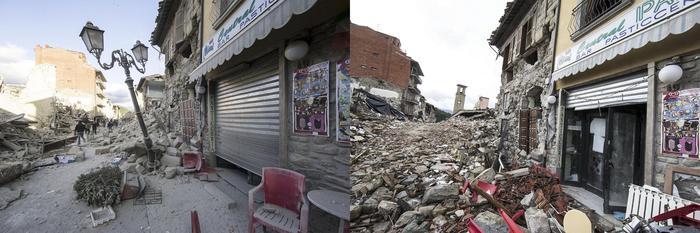 Terremoto: un mese dopo, segni di vita tra le rovine