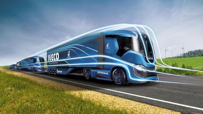 Ecco Iveco Z Truck, concept impatto zero