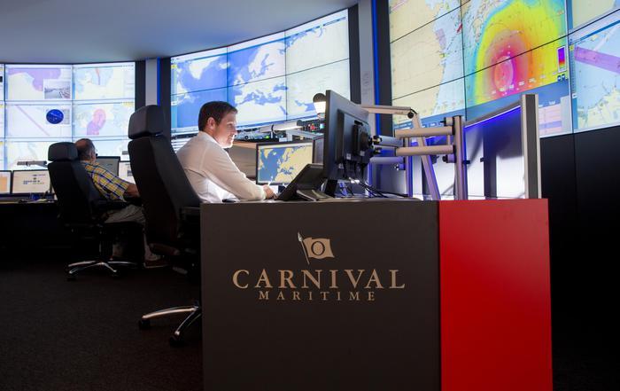 Controllo digitale per le navi Costa