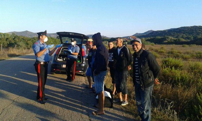 Migranti:sbarcano 15 algerini nel Sulcis