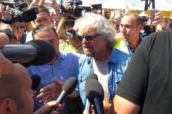 Grillo a Palermo:
