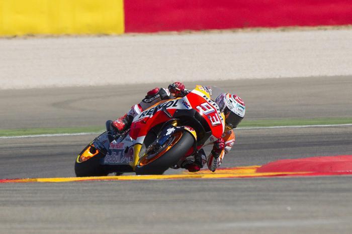 MotoGp, vince Marquez su Lorenzo e Rossi