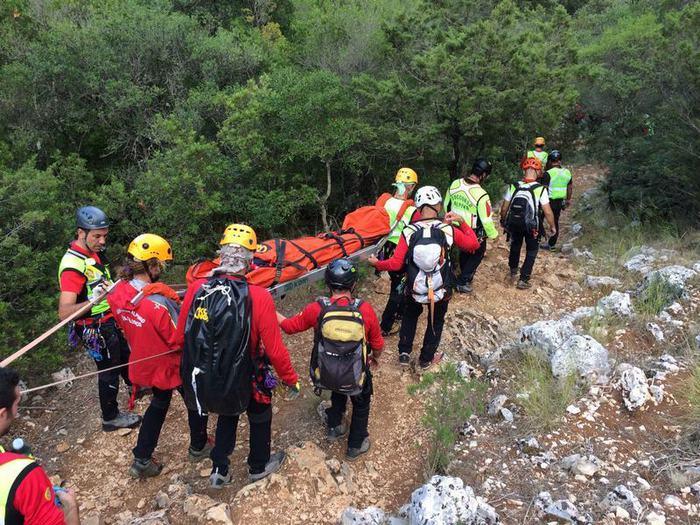 Escursionista salvata a Dorgali